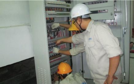 Bảo trì hệ thống điện tại Quảng Ngãi